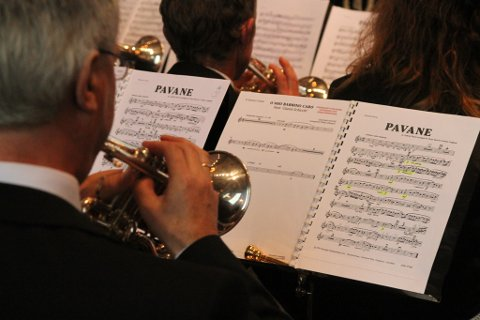 Gabriel Fauré sin pavane utgjorde hovuddelen av laurdagens kyrkjekonsert.