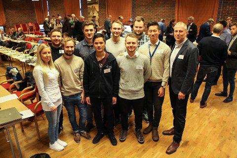 maritim forening nettverkssamling subsea høgskolen i bergen øyvind østrem studentar ingeniør