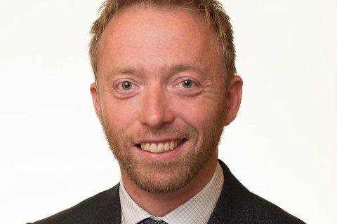 John-Ragnar Aarset er generalsekretær i Høgre og vitjar lokalpartiet sitt årsmøte i kveld, tysdag.