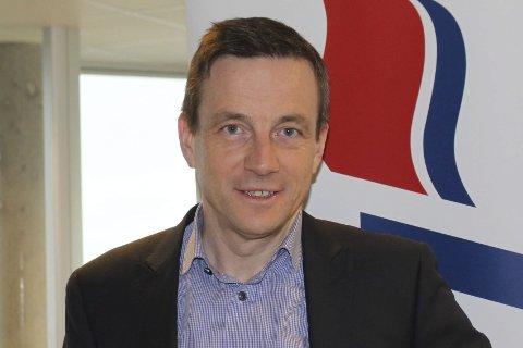 Driftsdirektør Andre Høyset i Fjord1-konsernet.