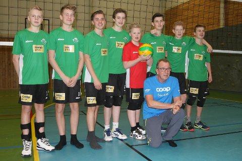 Svelgen-gutane som snart set kursen mot NM i Kristiansand.