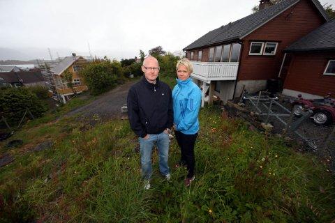 Geir Hillersøy og Annette Klepp Hillersøy Lindheimvegen