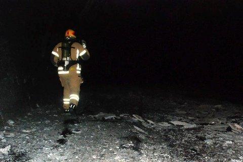 Tunnelen i brann, Skatestraumtunnelen, brannvesenet. eksplosjon