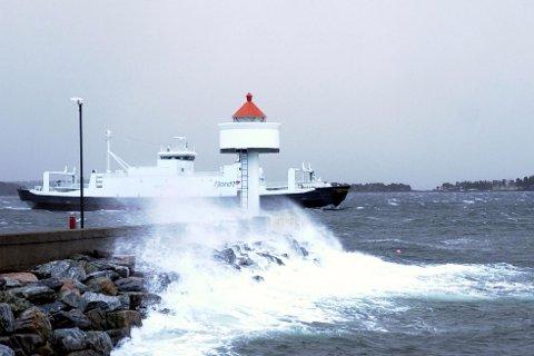 Illustrasjonsfoto frå Moldefjorden.