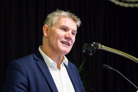 Bjørn Lødemel sit trygt på Stortinget sjølv om Hornindal har beslutta å bli ein del av Møre og Romsdal.
