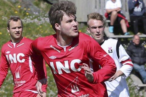 Inn på topp: Martin K. Hauge kjem inn for suspanderte Larsen.
