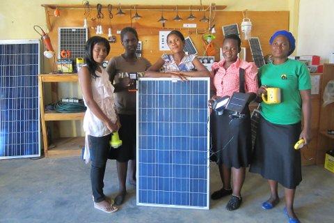 Kumudzi kuwale solenergi malawi Nkhotakota