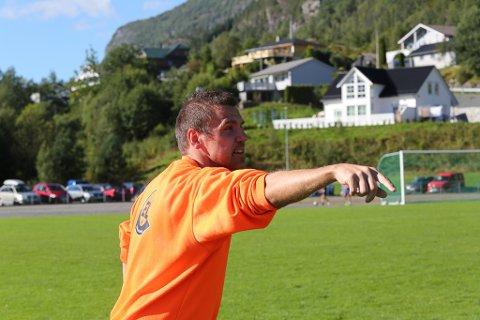 Trenar Håvard Mjølkeråen kan verre nøgd med årets sesong i Eikefjord.