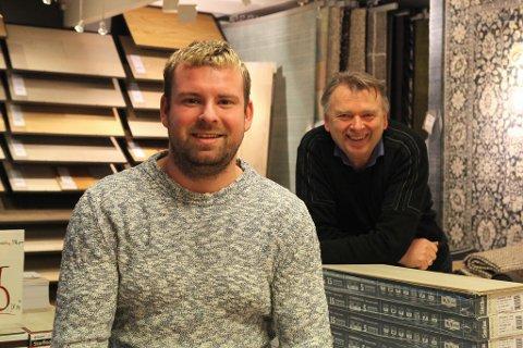 Ruben Solheim har kjøpt alle aksjane i Florø Interiør frå Knut Eimhjellen.