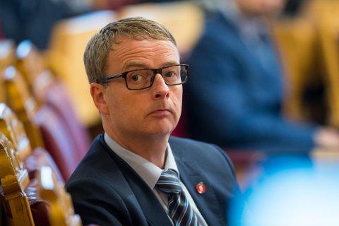 Olje- og energiminister Terje Søviknes. Foto: Heiko Junge / NTB scanpix