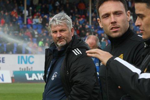 LITE EFFEKTIV: Terje Rognsø og dei svarte og blå fekk nok ein leksjon i effektivitet mot Bodø/Glimt.