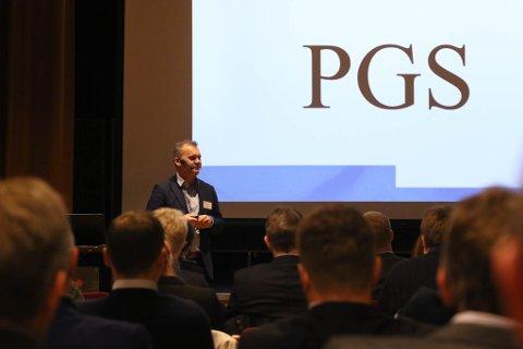 OPTIMISTISK: - PGS sin avtale med Fjrod Base fortel oss at Fjord Base og Florø er konkurransedyktig med tanke på framtidige aktørar, streka ordførar Ola Teigen under.