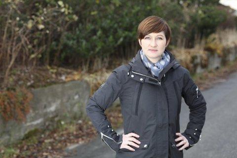 VIL RIVE: Hanne Husebø Kristensen meiner Haavehuset må rivast som planlagt.