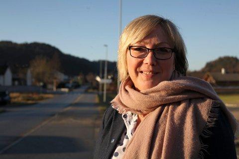 GLAD: Regjeringa droppar skatteforslag. Det er Frida Melvær (H) glad for.
