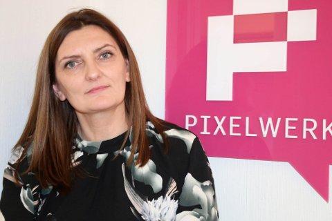 Solveig Willis er nytilsett i Pixelwerk.