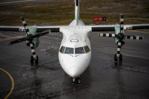 Om du kjem deg tid du skal i dag, som flypassasjer, er høgst usikkert på grunn av veret.