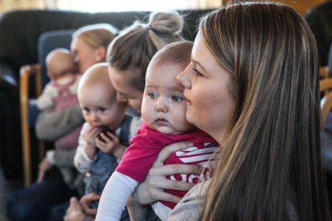FÆRRE BABYAR: Ikkje sidan 1964 har det blitt fødd færre barn i Florø. Det vil få konsekvensar for kommuneøkonomien. (ILLUSTRASJONSFOTO)