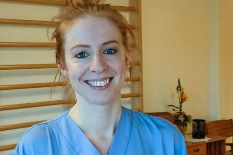 Linn Therese Belseth Heldal voks opp i Kalvåg, no er ho attende med ektemann på lasset.