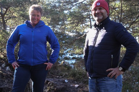 Flora Turlag lanserer DNT SjekkUT-appen Siv Merete Stadheim Ola Teigen