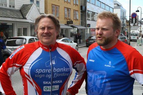 F.v. Tom Stigen og Jens Petter Kjelsnes.