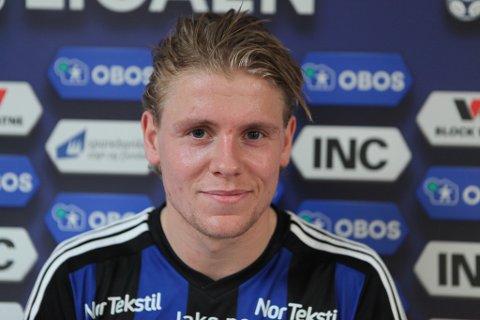 DEBUTERTE: Truls Hovland frå Årdal, fekk sin debut mot Elverum.
