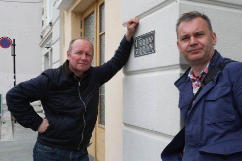 Ordførar Ola Teigen og varaordførar Jan Henrik Nygård.