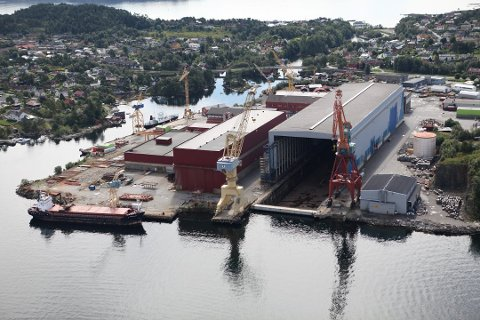 Med utbygt landstraum, vil Westcon Yards Florø bli eit meir miljøvenleg skipsverft.