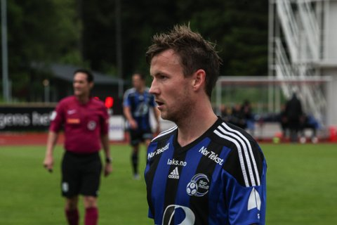 Christer Husa spelte ikkje mot Elverum grunna ein strekkskade.