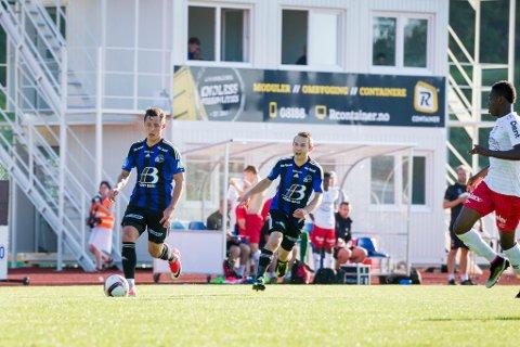 Stefan Aase og Endre Kupen imponerte mot Fredrikstad.