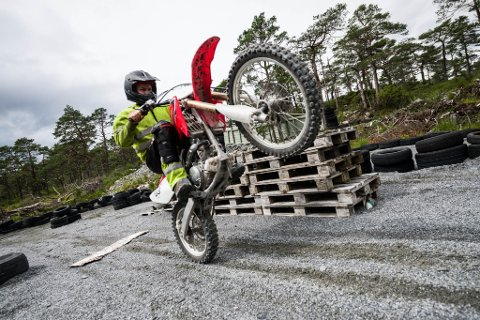 Florø Motorsport klubb Grovastøylen Martin Redal