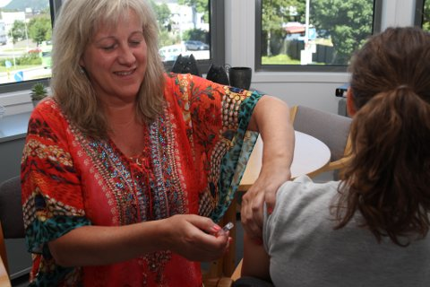 Kari Liseth, leiar for Helsestasjonen i Flora