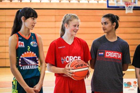 NORWAY: Hanne Løkkebø Nybø er ein av to frå Norge som trenar med dei største talenta i Europa.