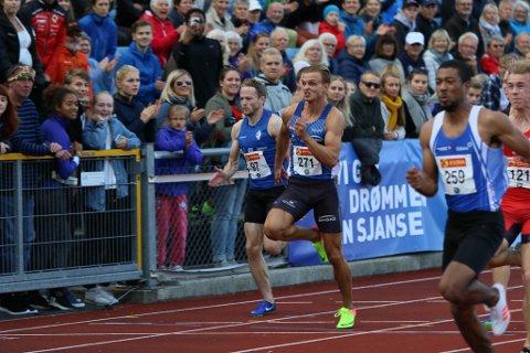 Øyvind Strømmen Kjerpeset spring inn til bronse under NM i Sandnes 2017
