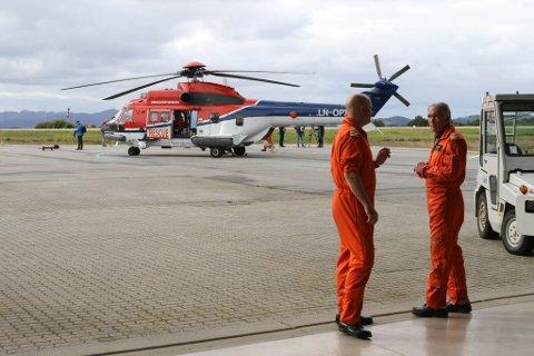 EITT HELIKOPTER TIL: Når den utvida redningsbasen er ferdig i 2023 vil det bli stasjonert eit resevehelikopter her, i tillegg til dagens maskin, i tilfelle denne er til reparasjon når alarmen ringer.