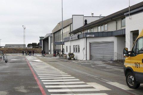 IKKJE BERGENSFLY: 07.45-flyet frå Florø til Bergen er kansellert torsdag morgon.