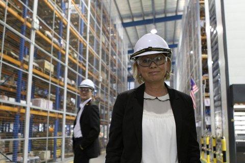 Monica Mæland, næringsminister (H).
