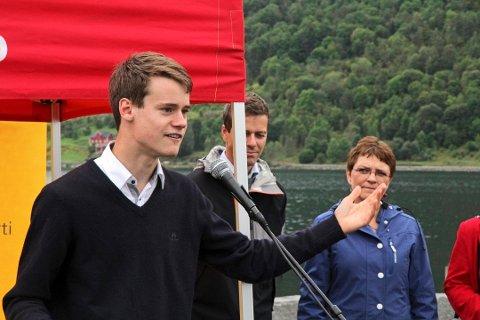 Tore Storehaug og Krf ber Venstre ta opp fjorddeponiet i regjeringsforhandlingane
