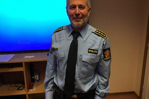 Arne Johannessen er den nye leiaren i Geografisk driftseining Sogn og Fjordane. Snart styrer han ein heilt ny samanskrudd politietat i fylket vårt.