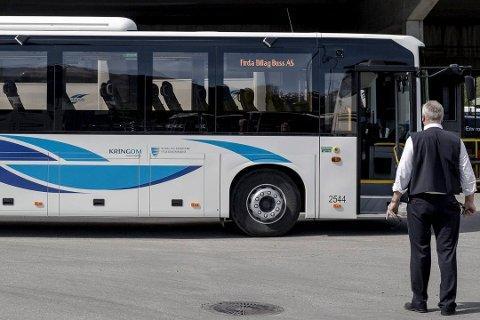 PRISVINNAR: Ingen slo Sogn og Fjordane i å lage godt tilpassa kollektivtilbod til ungdom, meiner Kollektivtrafikkforeningen.