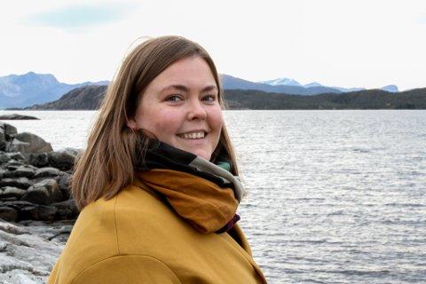 Guro Vik Kvalsund har flytta til Florø frå Bergen og starta i ny jobb som avdelingsleiar for heimetenestene i det nyoppretta distrikt sentrum, som inbefattar Docen II.