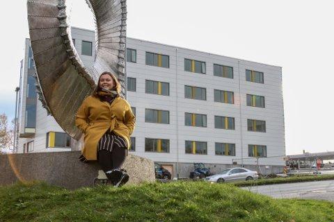 Guro Vik Kvalsund har flytta heim att frå Bergen til jobben som avdelingsleiar for Docen II