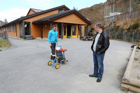 Kjell Leirgulen og Asle Skaar har vore med og kjempa for Kolset oppvekst i mange år.