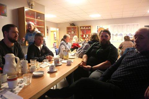 FAU-leiar Kjetil Watnedal, Stig Midtbø, Kim Nordal og Per Inge Midtbø.