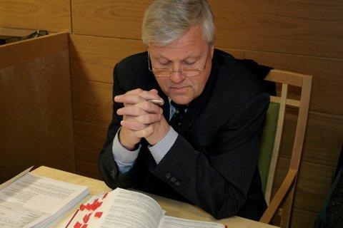 forsvarar Gunnar Lunde Foto: Hilde Genberg