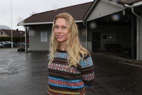 Maria Bugge, leiar i FAU ved Brandsøy skule og barnehage.