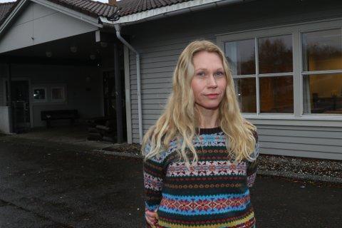 OVERRASKA: - Vi er både overraska og sjokkerte, seier Maria Bugge, FAU-leiar ved Brandsøy skule.