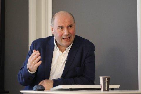 Gunnar Heggheim, leiar i investeringssenteret til Sparebanken Sogn og Fjordane.
