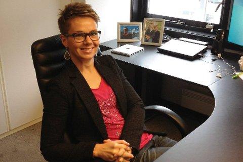 Motivert: Kristin Maurstad kan bli nestleiar i Fylkes-Ap, om årsmøtet vil. Ho er motivert for jobben.