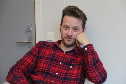 Martin Malkenes er Norges Blindeforbunds nye daglege leiar i Sogn og Fjordane.