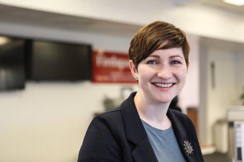 NY POLITISK ARENA: Hanne Husebø Kristensen tok i dag eit langt steg mot å få oppfylt ønsket sitt om å bli fylkespolitikar i nye Vestland storfylke.
